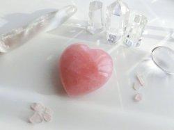 画像2: 【恋愛の石】ローズクオーツ_ハート